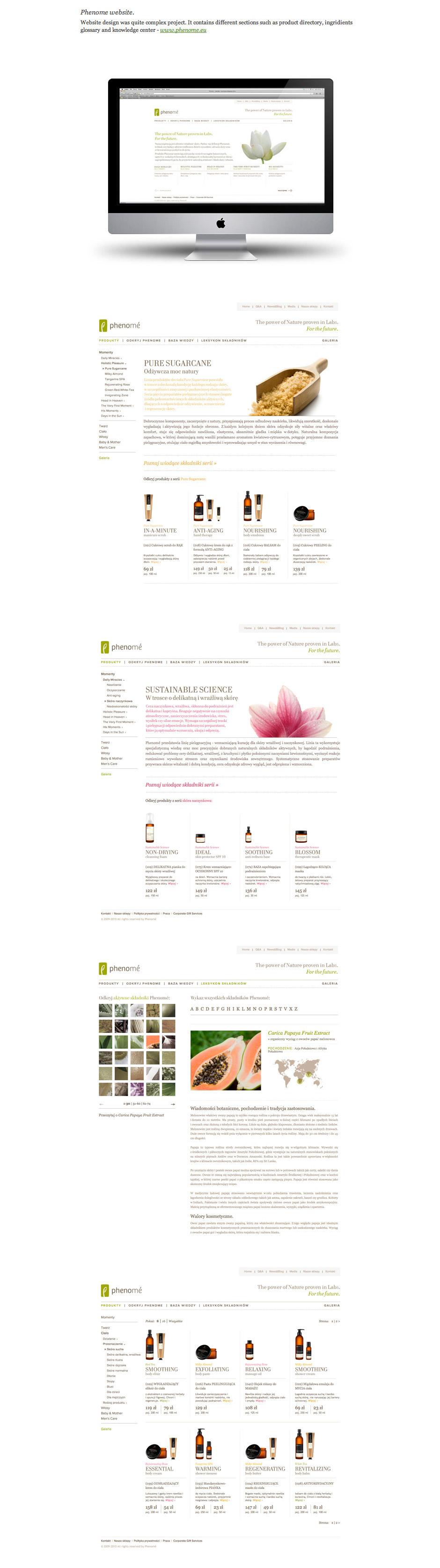 Phenome_website